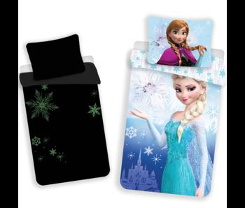 Disney Frozen Bettbezug Glow in the Dark 140x200 cm