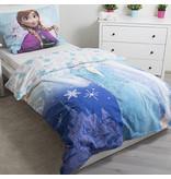 Disney Frozen Glow in the Dark - Bettbezug - Einzel - 140 x 200 cm - Blau