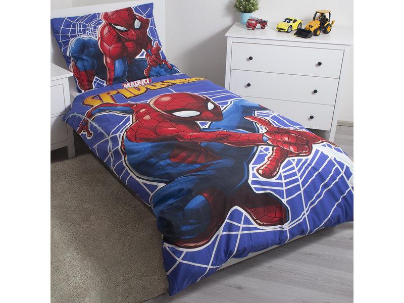 Spider-Man Glow in the Dark - Bettbezug - Einzel - 140 x 200 cm - Multi