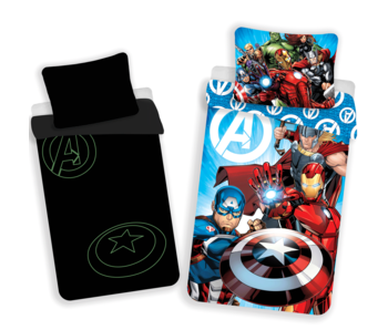 Marvel Avengers Duvet cover Glow in the Dark 140x200 cm