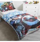 Marvel Avengers Glow in the Dark - Bettbezug - Einzel - 140 x 200 cm - Multi