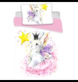 Animal Pictures Bunny White - Baby Duvet Cover - 100 x 135 cm - Multi