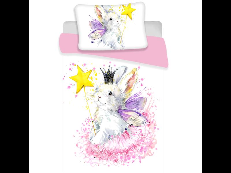 Animal Pictures Bunny White - Housse de couette bébé - 100 x 135 cm - Multi