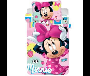 Disney Minnie Mouse Baby dekbedovertrek Sweet 100x135 cm