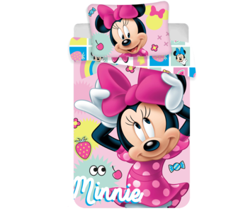 Disney Minnie Mouse Babybettbezug Sweet 100x135 cm