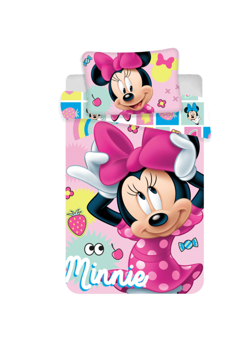 Disney Minnie Mouse Baby dekbedovertrek Sweet 100x135 cm
