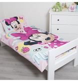 Disney Minnie Mouse Sweet - Baby Dekbedovertrek - 100 x 135 cm - Multi