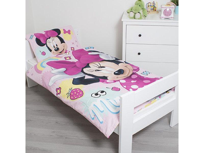 Disney Minnie Mouse Sweet - Housse de couette bébé - 100 x 135 cm - Multi