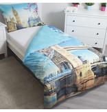 Londen Tower Bridge - Duvet cover - Single - 140 x 200 cm - Multi