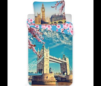 Londen Dekbedovertrek Tower Bridge 140x200 cm
