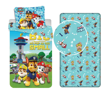 PAW Patrol Dogs - Duvet cover - Single - 140 x 200 cm - Multi - Including fitted sheet