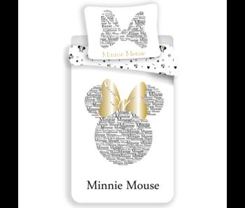Disney Minnie Mouse Enveloppe de couette Gold 140x200 cm