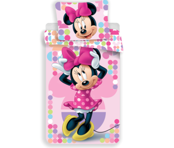 Disney Minnie Mouse Bettbezug Pink 140x200 cm