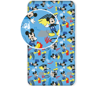 Disney Mickey Mouse Fitted sheet Hey 90x200 cm