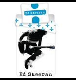 Ed Sheeran Guitar Dekbedovertrek - Eenpersoons - 140x200 cm - Wit