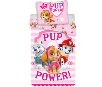 PAW Patrol Bettbezug Pup Power 140x200 cm