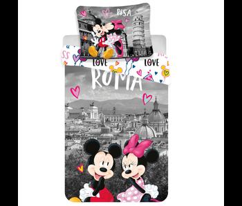 Disney Minnie Mouse Housse de couette Roma Love 140x200 cm