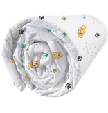 The Lion King Savana Fitted Sheet - Single - 90 x 200 cm - White