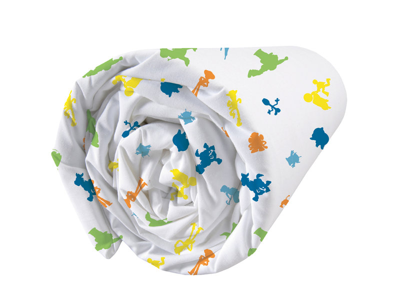 Toy Story Action Fitted Sheet - Single - 90 x 200 cm - Multi