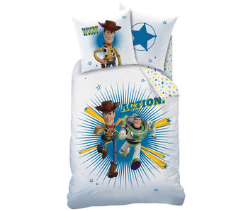 Toy Story Bettbezug Action 140 x 200 cm