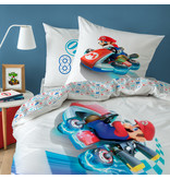 Nintendo Housse de couette Speed - Simple - 140 x 200 cm - Multi