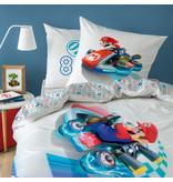 Nintendo Speed Dekbedovertrek - Eenpersoons - 140 x 200 cm - Multi