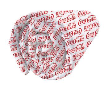 Coca Cola Hoeslaken Denim 90 x 200 cm
