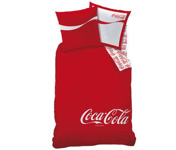 Coca Cola Dekbedovertrek Denim 140 x 200 cm