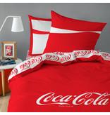 Coca Cola Denim Duvet cover - Double - 140 x 200 cm - Red