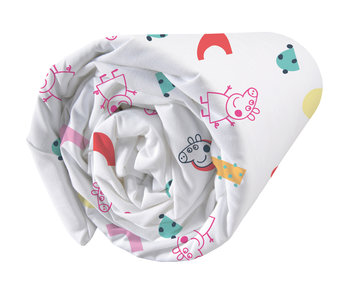 Peppa Pig Fitted sheet Memphis 90 x 200 cm