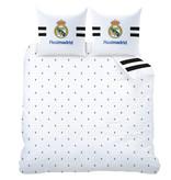 Real Madrid Maillot Dekbedovertrek - Tweepersoons - 240 x 220 cm - Wit