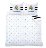 Real Madrid Maillot Duvet cover - Double - 240 x 220 cm - White