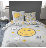 Smiley World Housse de couette Hey - Double - 240 x 220 cm - Multi
