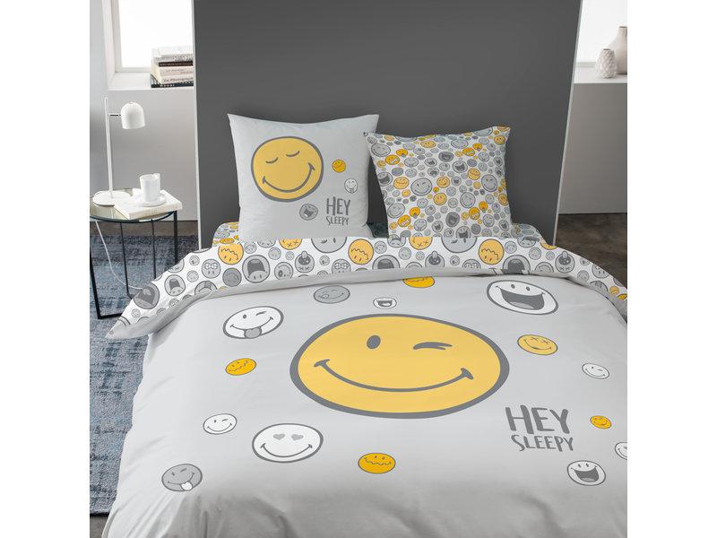 Smiley World Dekbedovertrek Hey - Tweepersoons - 240 x 220 cm - Multi