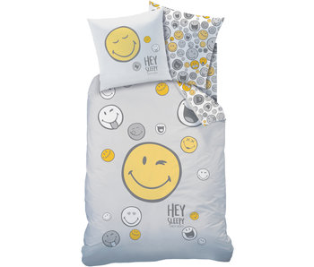 Smiley World Bettbezug Hey 140 x 200 cm