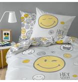 Smiley World Hey Duvet cover - Single - 140 x 200 cm - Multi