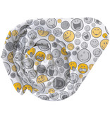 Smiley World Hey Fitted Sheet - Single - 90 x 200 cm - Multi