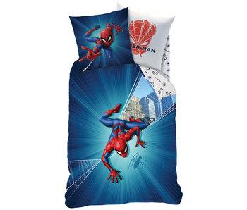 SpiderMan Housse de couette City 140 x 200 cm