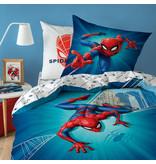 SpiderMan Housse de couette City - Single - 140 x 200 cm - Multi