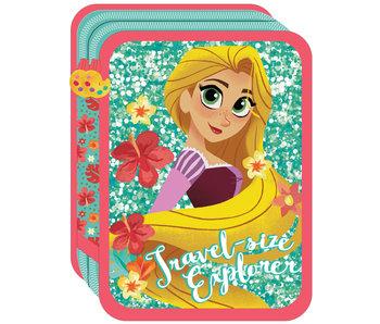 Disney Rapunzel Mit Reisegröße Explorer gefüllter Koffer 21 x 15 x 5 cm