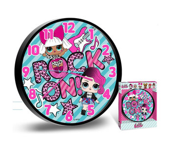 L.O.L. Surprise! Rock wall clock