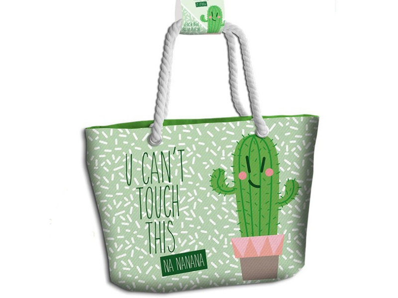 moderate price thoughts on online store U Can't Touch This - Beach bag - 44 cm - Green