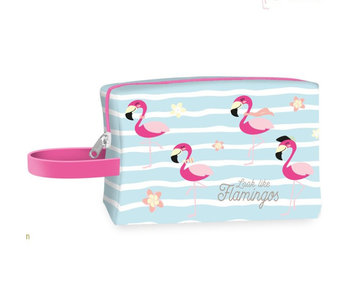 Flamingo Trousse de toilette Look Like Flamingos 20 cm