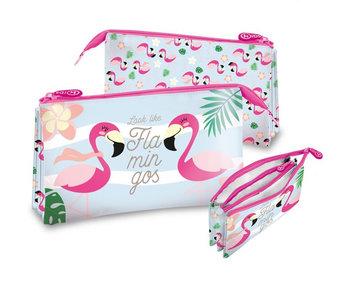 Flamingo Etui Look Like Flamingos 22 cm