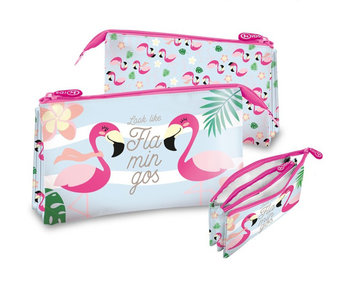 Flamingo Etui sehen aus wie Flamingos 22 cm