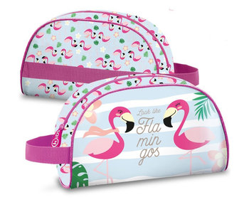 Flamingo Kulturtasche Look Like Flamingos 25 cm