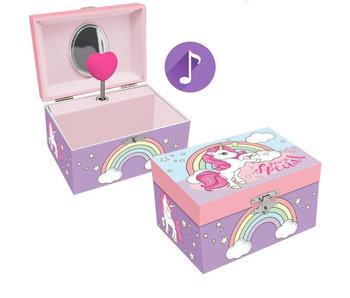 Unicorn Boîte à musique / bijoux Tu es spécial