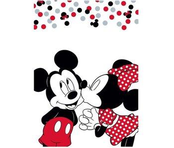 Disney Minnie Mouse Fleece Plaid Kiss 100 x 140 cm