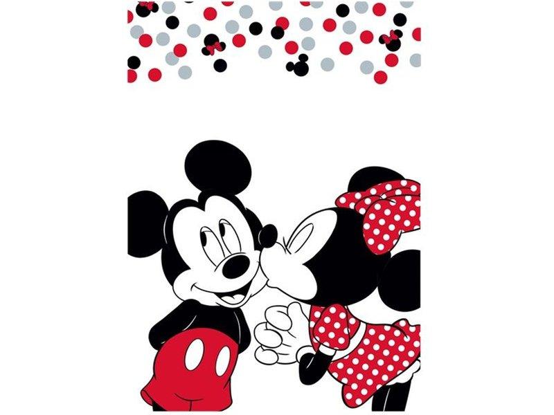 Disney Minnie Mouse Kiss - Couverture polaire - 100 x 140 cm - Multi