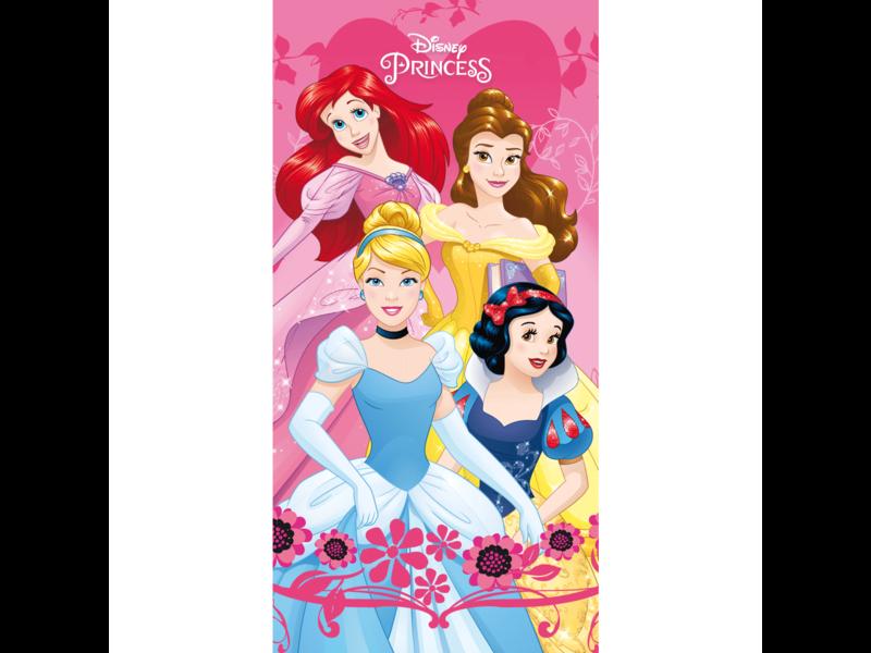 Disney Princess Serviette de plage - 70 x 140 cm - Rose